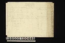 Sketch of proposed layout of west end of property :Sheet no.1,
