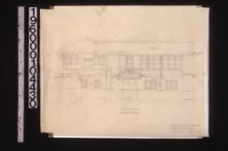 South elevation :Sheet no. 5. (3)
