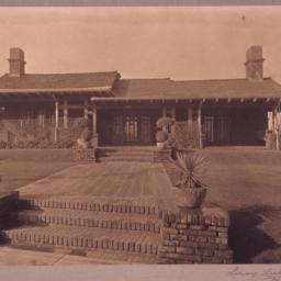 [S.S. Crow house, Pasadena,...