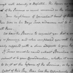 Document, 1775 July n.d.