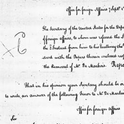 Document, 1785 September 07