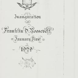 Ephemera: 1939 January 1