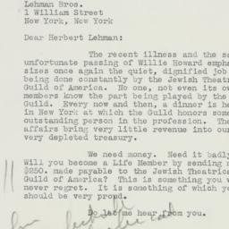 Letter: 1949 January 24