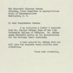 Letter: 1950 February 21
