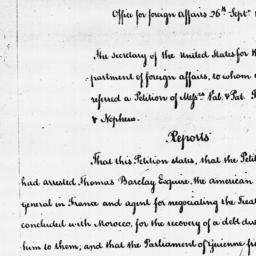 Document, 1787 September 26