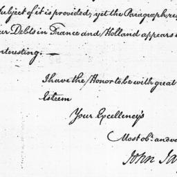 Document, 1785 April 29