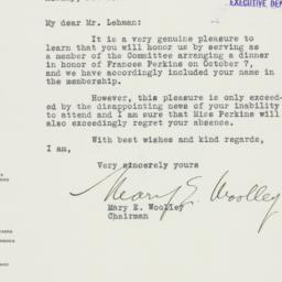 Letter: 1936 September 23