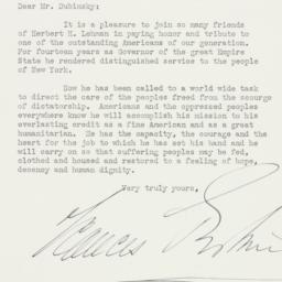 Letter: 1943 January 12