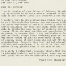 Letter: 1946 February 28