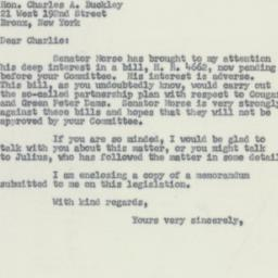 Letter: 1955 May 16
