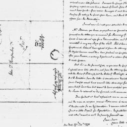 Document, 1771 December 27