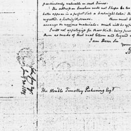Document, 1809 January 30