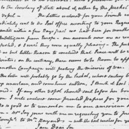 Document, 1796 March 25