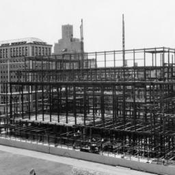 Butler Library Construction 8