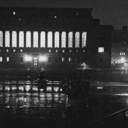 Butler Library at Night