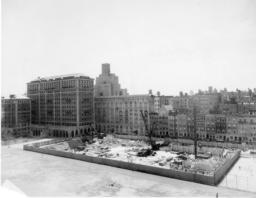 Butler Library Construction 6