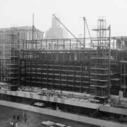 Butler Library Construction 16