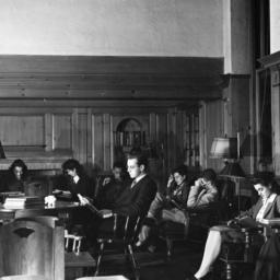 Browsing Room, December 1945