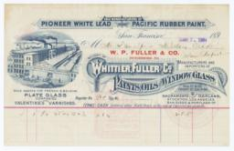 Whittier, Fuller & Co.. Bill - Recto