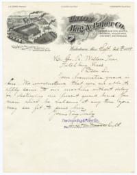 Union Bag & Paper Co.. Letter - Recto