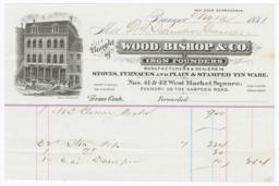 Wood, Bishop & Co.. Bill - Recto