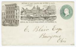 Wm. McCully & Co. Glass Works. Envelope - Recto