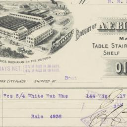 A. F. Buchanan & Sons. Bill