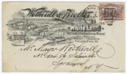 Wetherill & Brother. Envelope - Recto