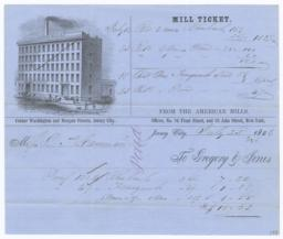 American Mills. Bill - Recto