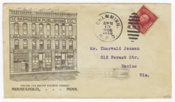 C. Rasmussen Publishing Co.. Envelope - Recto