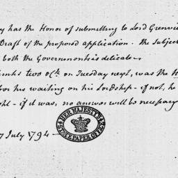 Document, 1794 July 27