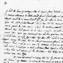 Document, 1779 January 09
