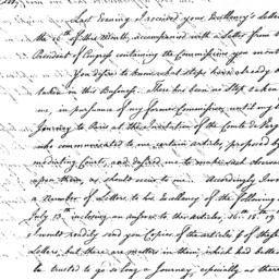 Document, 1781 August 7
