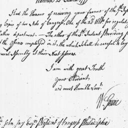 Document, 1779 March 28