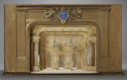 Model Of The Salle Des Machines, Theater In The Tuilieries, Paris, In 1671