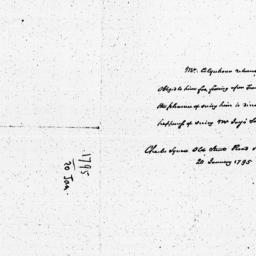 Document, 1795 January 20