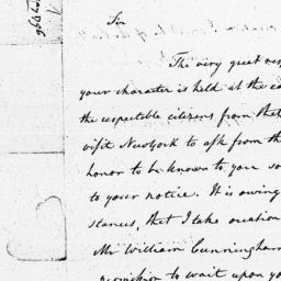 Document, 1796 May 26