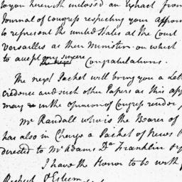Document, 1785 March 15