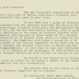 Letter: 1934 August 24