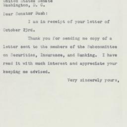 Letter: 1953 November 3