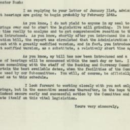 Letter: 1956 February 7