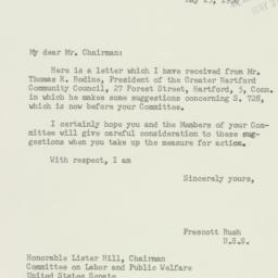 Letter: 1956 May 25