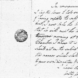 Document, 1790 January 07
