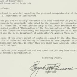 Letter: 1953 October 27