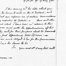Document, 1786 May 19