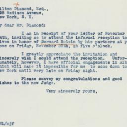 Letter: 1941 November 26