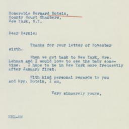 Letter: 1942 November 17