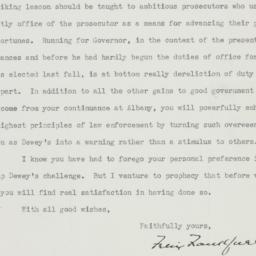 Letter: 1938 October 4