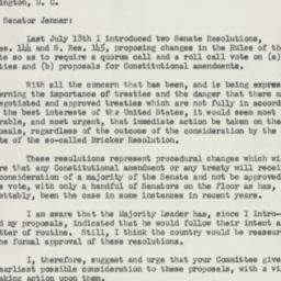 Letter: 1954 January 11