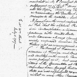Document, 1787 July 05